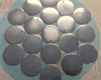 20 Aluminum 2 Inch Blanks - As Is