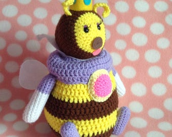 Large Honey Queen Amigurumi Plush
