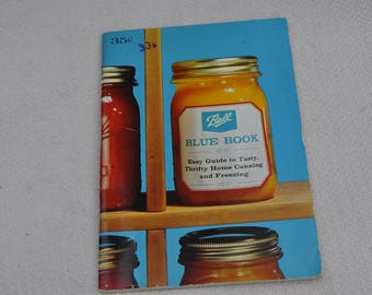 1966 Ball Blue Book Canning Book