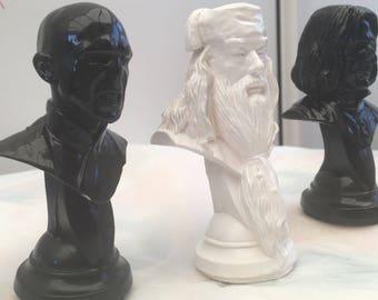 Harry Potter Collectable Snape Dumbledore Voldemort Figures Ornament Figurines