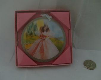 Barbie as Glinda Circle Ornament