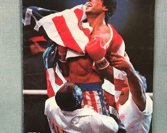 RockyIV -Rocky movie book- Sylvester Stallone
