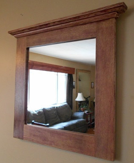 wood framed bathroom mirrors oak mirror rustic oak framed mirror custom made oak framed 21699