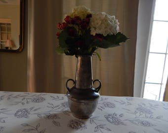 Pewter Vase Antique
