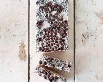 coffee | bar soap | organic |  fair trade | call me skinny | vanilla | hazelnut |