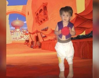 Inspired by Aladdin (street rat) costume