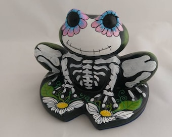 Day of the dead froggie