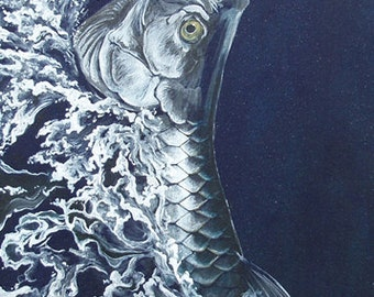 Reigning Silver - Limited Edition Giclee Print