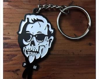 SKULL SANDERS Keychain by Print Mafia®