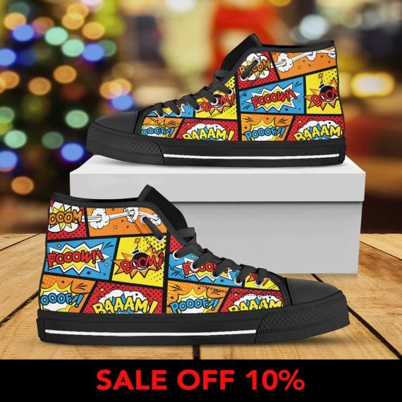 Iron DC Comics Thanos Thor America Background Pop Hulk Marvel Comic Captain Shoes Custom Art Shoes Custom Shoes Converse Shoes IOS6xa
