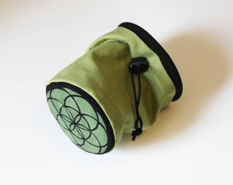 Seed of Life Sacred Geometry - Rock Climbing Chalk Bag