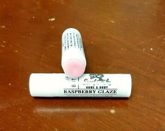 Raspberry Glaze Lip Butter, Handmade Lip Balm, Lip Moisturizer, Shea Butter Lip Butter, Cocoa Butter Lip Butter, Beeswax Lip Butter