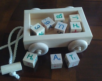 childrens wagon pull toy