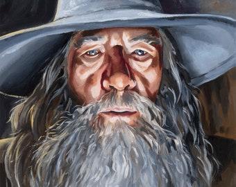 Gandalf 8x10 Print