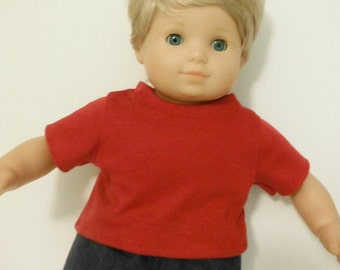 15 inch Doll Clothes American Girl Bitty Twin, T-shirt