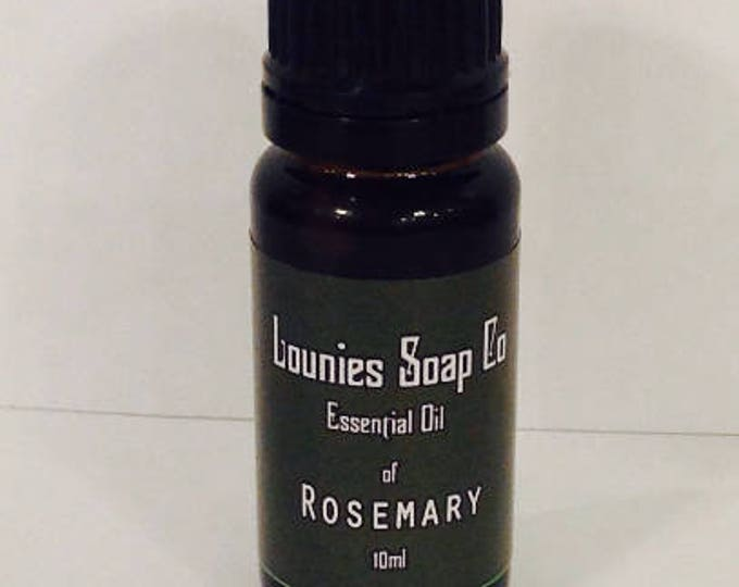 Rosemary Essential Oil | 10ml | Pure | Natural | Aromatherapy | Therapeutic Grade |  Energizing |