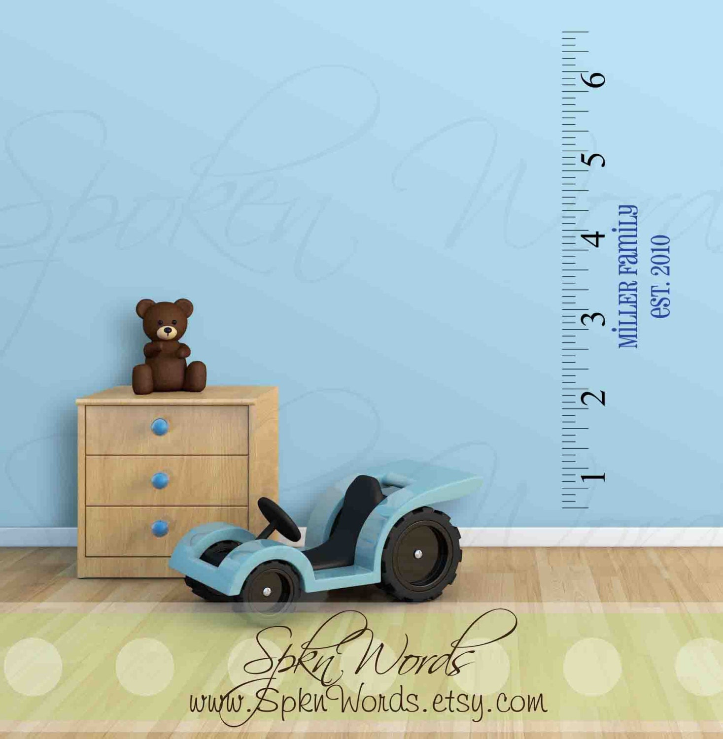 Ruler growth chart 6 foot with numbers and inch marksnyl zoom biocorpaavc