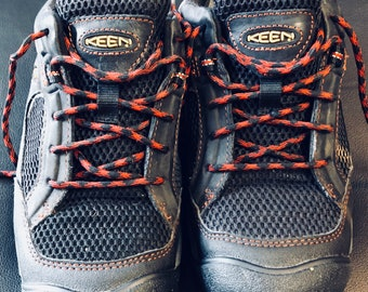 KEEN leather vintage hiking boots size 7.5 mens mountain guide jacket lyte snow beach climbing trailguide outdoors workboot usa tuff 90s gtx