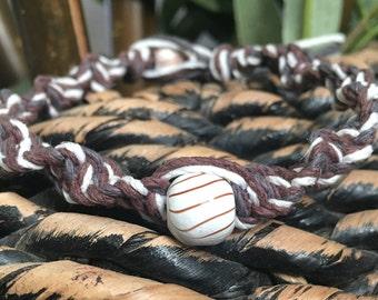 Hemp Bracelet, Hemp Jewelry, Spiral Knot Hemp Bracelet