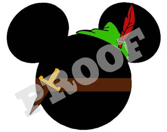 PETER PAN DISNEY Iron On