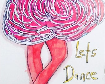 lets dance and put on your dancing shoes