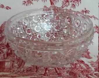 Baccarat Crystal, old beautiful small dish, rare.