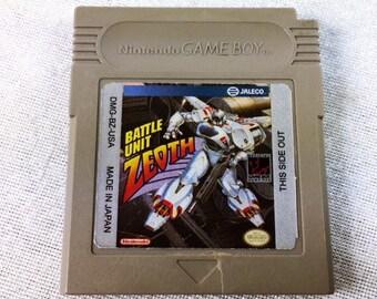 Battle Unit Zeoth Nintendo Gameboy - Nintendo Game Boy