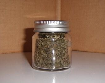 Dried Catnip in Mini Jar,  Vermont Grown!