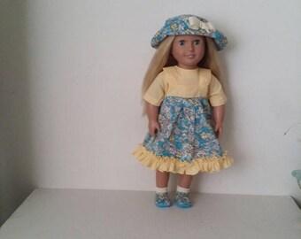 """4 Pcs Jumper  Set  Fits 18"""" Dolls"""
