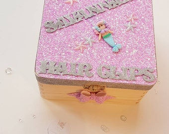 Personalised bow box to store those sassy bows
