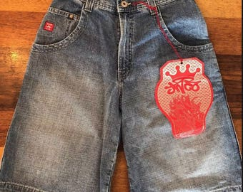 Vintage Mens JNCO Jean Shorts Brand New