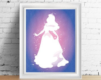 Disney Princess Aurora downloadable digital art print