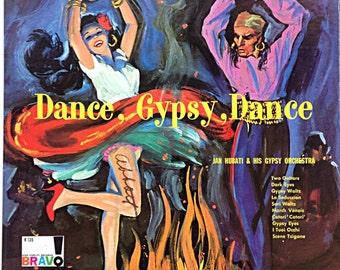 Dance Gypsy Dance Vintage Vinyl Record Lp 1950s