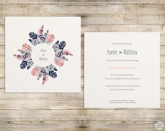 Feather - invitation - wedding invitation collection