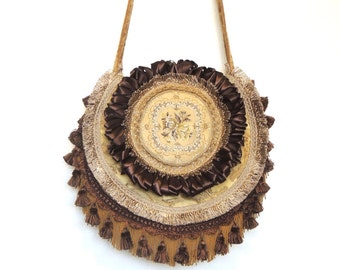Shabby Bohemian bag, Romantic Gypsy bag, Hippie Bag, Carpet bag, Overnight bag, messenger bag