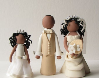 Custom Clay Cake Toppers DEPOSIT