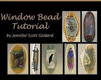 Window Series Lampwork Bead Tutorial PDF