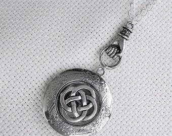 Celtic Knot  Enchanted Irish Locket