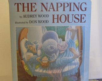 The napping house by Audrey Wood, illustrated by Don Wood VINTAGE