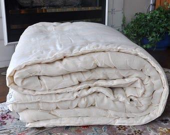 Wool Comforter Duvet King Organic