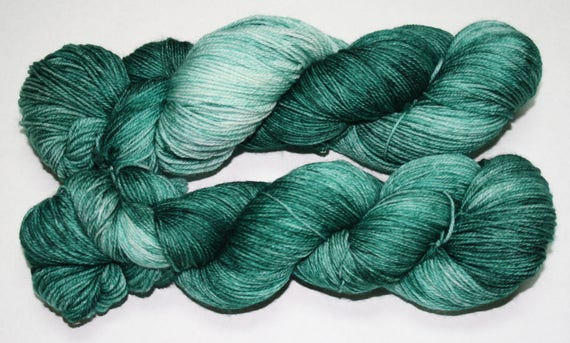 Crossing to France Hand Dyed Sock Yarn