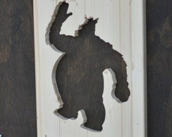 Pete Wood Silhouette Disney Cutout