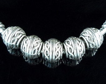Rope  Spacer Beads Charm for European Style Charm Bracelet
