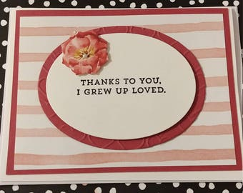 Thanks to You Mother's Day Card