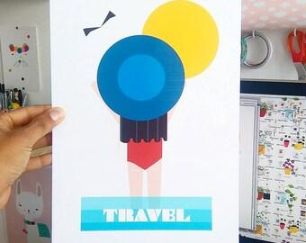 Print-Travel-