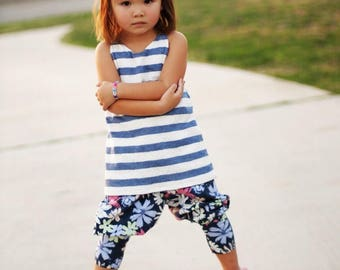 Yoggers PDF Sewing Pattern, including sizes 12 months-12 years, Pants Pattern