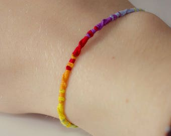 Multicolor Bracelet - Brazilian, braided