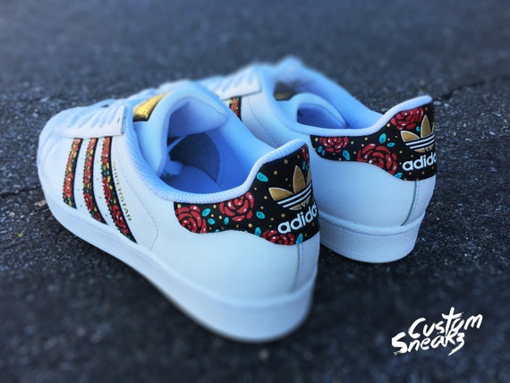 adidas superstars flower