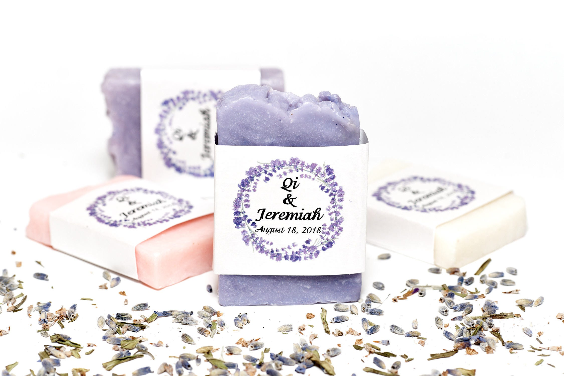 35 Wedding soap wedding favors Lavender Wedding Bridal