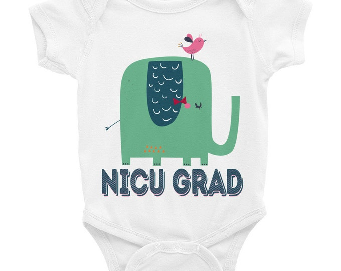 NICU Grad Nappy, Funny Nappy, NICU Graduate Onsie, Neonatal Baby Clothes, Newborn Onsies, Baby Shower Gift, Baby Bodysuit, Funny Bodysuit